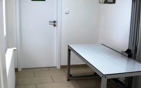 Rentgenová místnost s digitálním RTG
